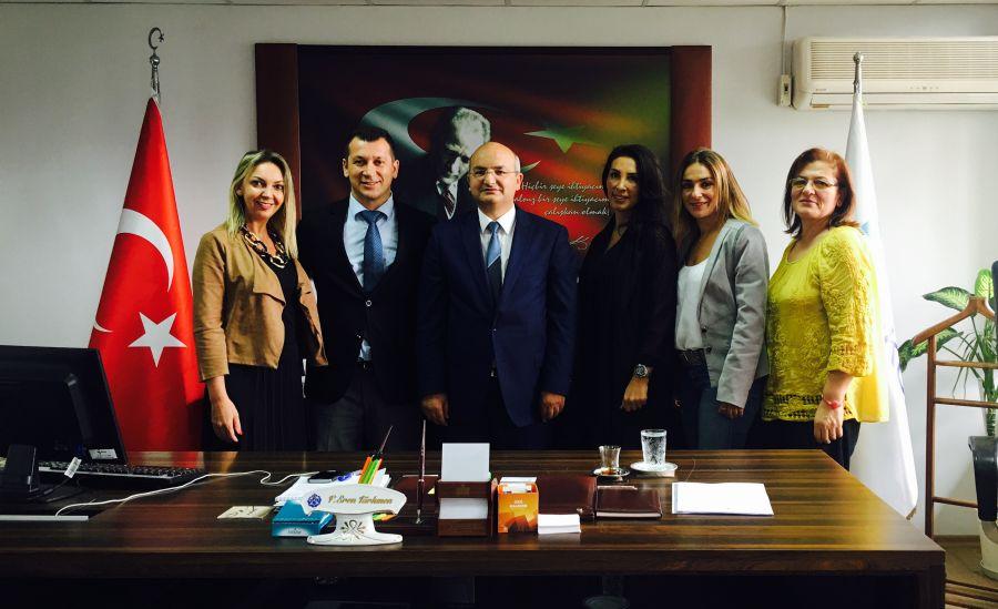 İstanbul Çalışma ve İş Kurumu İl Müdürü F. Eren Türkmen beyi ziyaret ettik